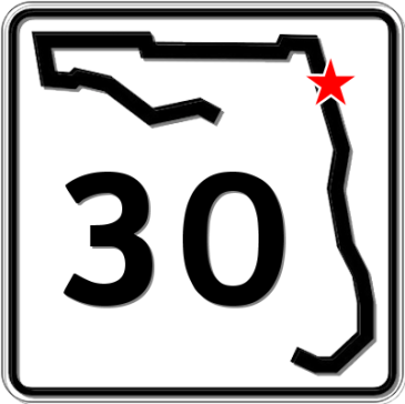 Florida Shield 30 with star 400px