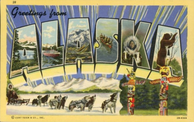Greetings from Alaska Postcard 800px