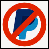 No Paypal 166px