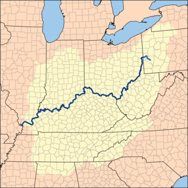 Ohio River Drainage 600 px