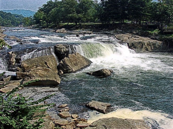 Ohiopyle Falls wsig 999px