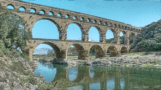 Pont du Gard wsig