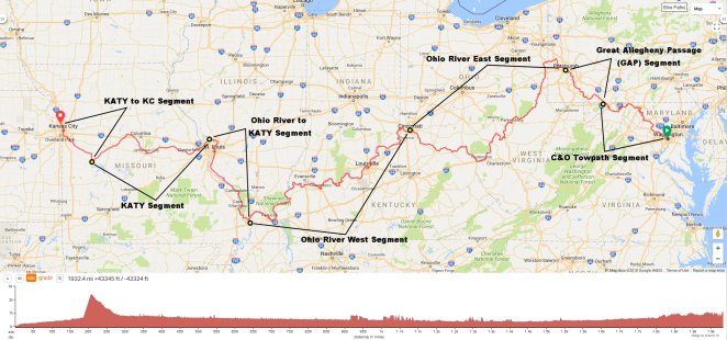Route Map All Segments Annotated